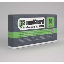 Плита звукопоглощающая  SoundGuard Basalt 1000х600х50 мм (2,4м2)(0,12м3)(уп)